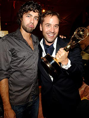 Adrian Grenier, Jeremy Piven, and Jeremy's Emmy