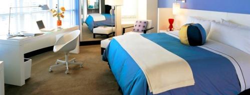 W Hotel San Diego Cool Corner Room