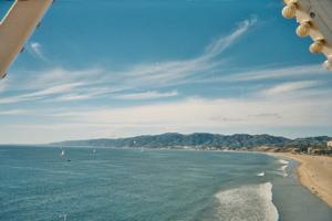 Santa Monica Big Wheel view