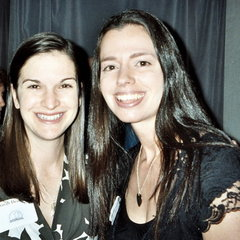 Sarah Dessen and Susane Colasanti