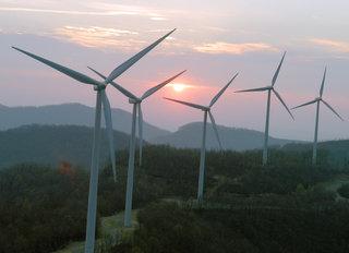 Wind Farm in Bliss, NY