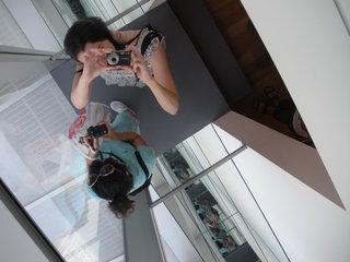 Susane Colasanti at the Museum of Modern Art, June 2008
