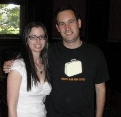 Susane Colasanti and David Levithan
