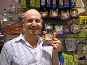 Joe Torello at Dylan's Candy Bar