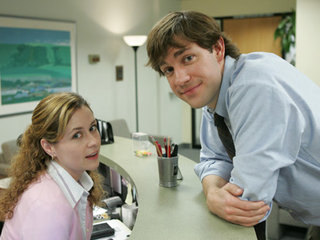 Pam Beesly and Jim Halpert