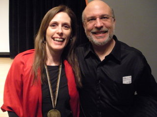 Laurie Halse Anderson and Scot