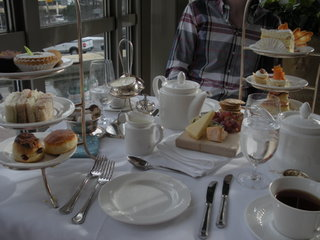 High tea in Canada