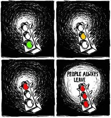 One Tree Hill, people always leave