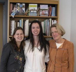 Kendra Levin, Susane Colasanti, and Regina Hayes