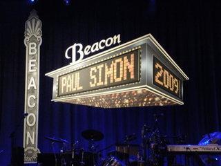 Paul Simon at the Beacon Theater
