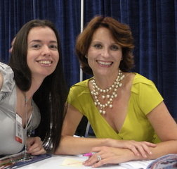 Susane Colasanti and Meg Cabot