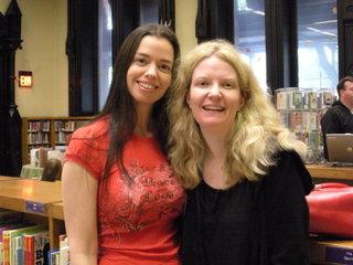 Susane Colasanti and Elizabeth Scott