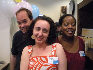 Michael Northrop, Aimee Friedman, and Coe Booth
