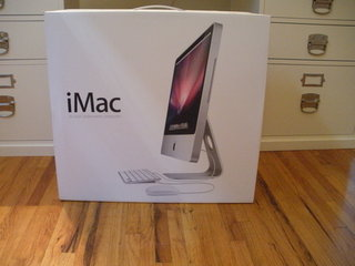 Shiny new iMac