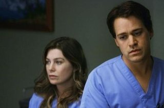 Meredith Grey and George O'Malley