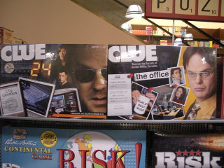 24 and The Office Clue games