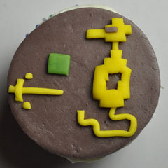 Adventure cupcake