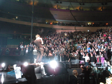 John Mayer at Madison Square Garden, 2.25.10