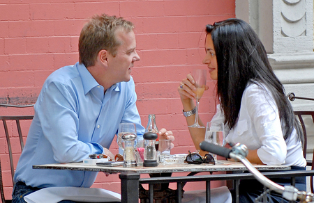 Kiefer Sutherland and Susane Colasanti...or is she?