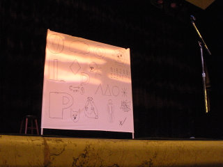 Demetri Martin show at Town Hall