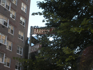 West Village street signs