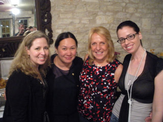 Ally Carter, Melissa de la Cruz, Ellen Hopkins, and Susane Colasanti