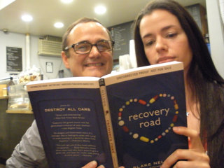 Blake Nelson and Susane Colasanti with Recovery Road