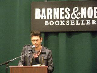 James Franco reading from Palo Alto