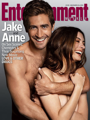 Jake Gyllenhaal and Anne Hathaway in Entertainment Weekly