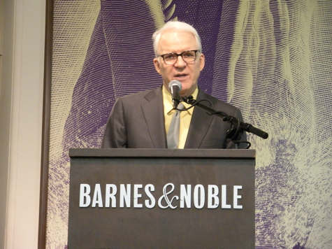 Steve Martin reading from An Object of Beauty at Barnes & Noble