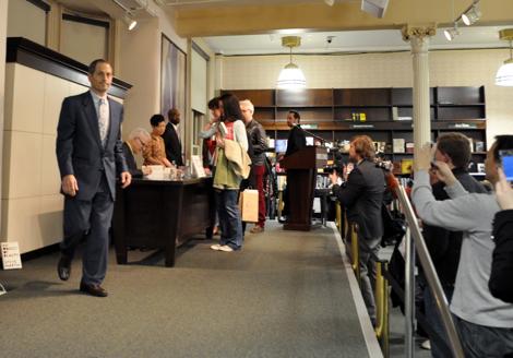 Steve Martin at Barnes & Noble