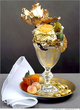 Golden Opulence Sundae at Serendipity