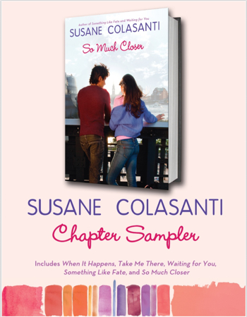 Susane Colasanti chapter sampler on Scribd