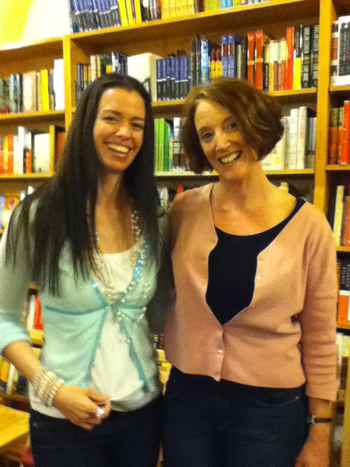 Susane Colasanti and Rosemary Graham at A Great Good Place for Books