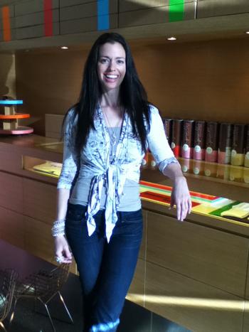 Susane Colasanti at Sprinkles Palo Alto