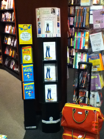 What Happened to Goodbye by Sarah Dessen floor display