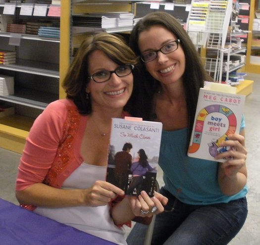 Meg Cabot and Susane Colasanti