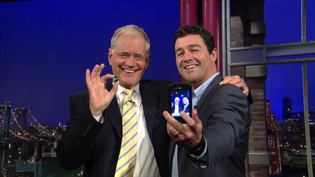 David Letterman, Kyle Chandler, and the magical marble