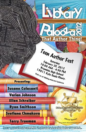 LibraryPalooza 2012 in San Antonio, TX