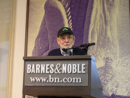 Eric Carle at his Barnes & Noble event on October 3, 2011