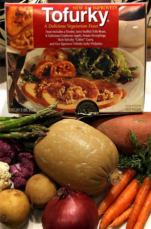 Tofurky Thanksgiving Feast