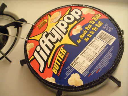 Jiffy Pop is delicious