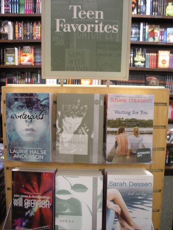 Teen Favorites display