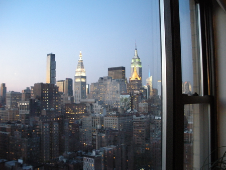 New York City dream view from the 27th floor
