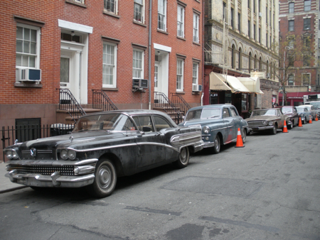 Vintage cars used during the filming of Inside Llewyn Davis