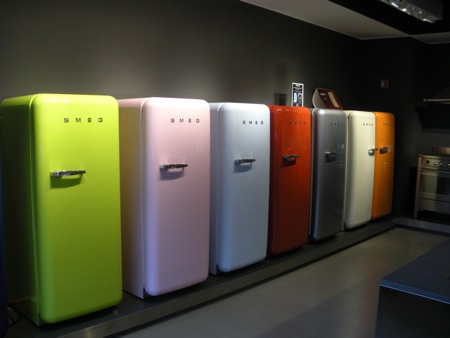 Adorable Smeg refrigerators