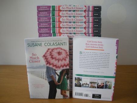 So Much Closer by Susane Colasanti paperbacks