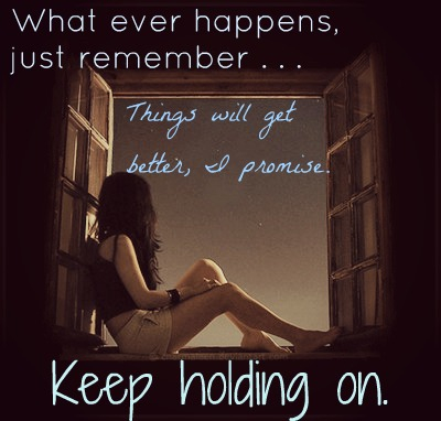 Keep Holding On contest
