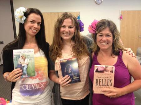 Susane Colasanti, Elizabeth Eulberg, and Jen Calonita
