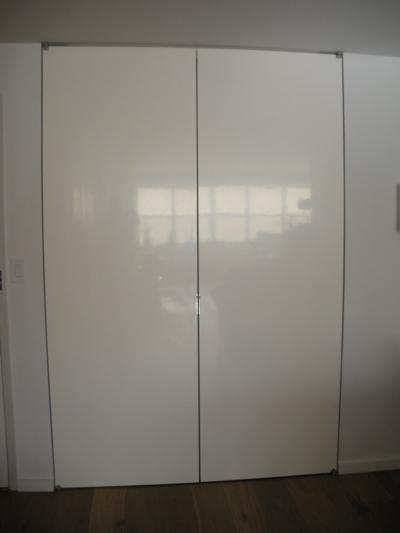 Front closet doors after